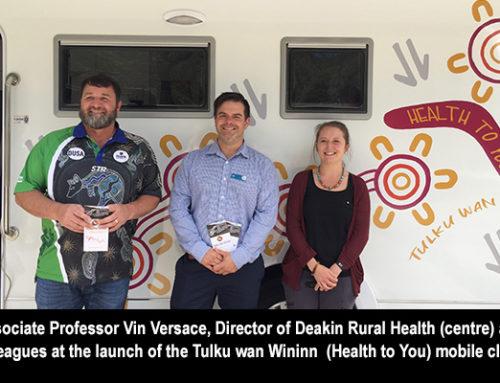 Deakin Rural Health wins Vice-Chancellor's Award for Community Partnerships